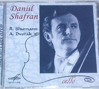 Daniil SHAFRAN Cello Music of Shumann & Dvorjak