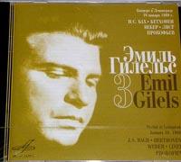 Emil GILELS plays Bach,Beethoven,Weber,Liszt..