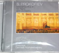 PROKOFIEV Concerto No.2,3 for Piano and Orchestra