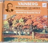 BORODIN QUARTET Music of Vainberg