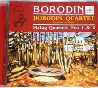 BORODIN QUARTET play Borodin, String Quartets