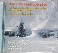 TCHAIKOVSKY Serenade Op.48, Suite No.3