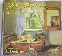 P.TCHAIKOVSKY, Suites No.1, 2