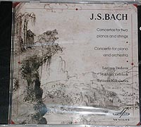 BACH Concertos 1,2,3 for Two Pianos and Orchestra