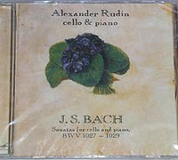 BACH Sonatas for Cello and Piano by A.RUDIN