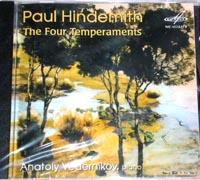 HINDEMITH Four Temperaments A.Vedernikov Piano