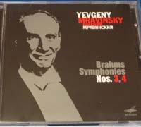 E.Mravinsky. Brams, Symphonies Nos.3,4