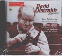 David Oistrakh plays Tchaikovsky & Jean Sibelius