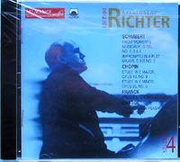 S.Richter plays music of Shubert, Chopin, Franck, Bartok