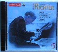 S.Richter plays music of Chopin, Saint-Saens, Franck