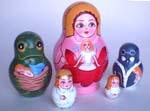 Thumbelina Russian dolls