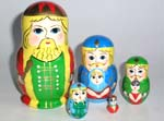 Princess Frog Russian dolls
