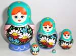 In a Garden Russian dolls