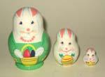 Easter Rabbits Babushka