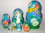 Fairies Russian nesting dolls