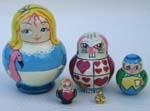 Alice fairy tale Babushka