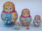 Nanny with kids Babushka