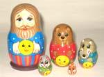 Gingerbreadman fairy tale dolls