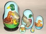 Ducks Family Matreshka