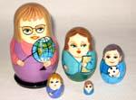 Teachers Russian nesting dolls