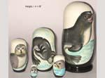 Fur Seals Russian dolls
