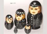 British Policemen Babushka