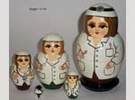 Doctors Russian nesting dolls