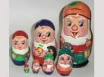 Seven Dwarfs Russian dolls