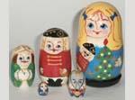 Nutcracker Russian dolls