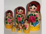 Semenovskaya dolls Babushka