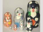 Cats and Mouse Babushka